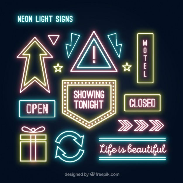 neon image result for neon lights aesthetic project vegas lights