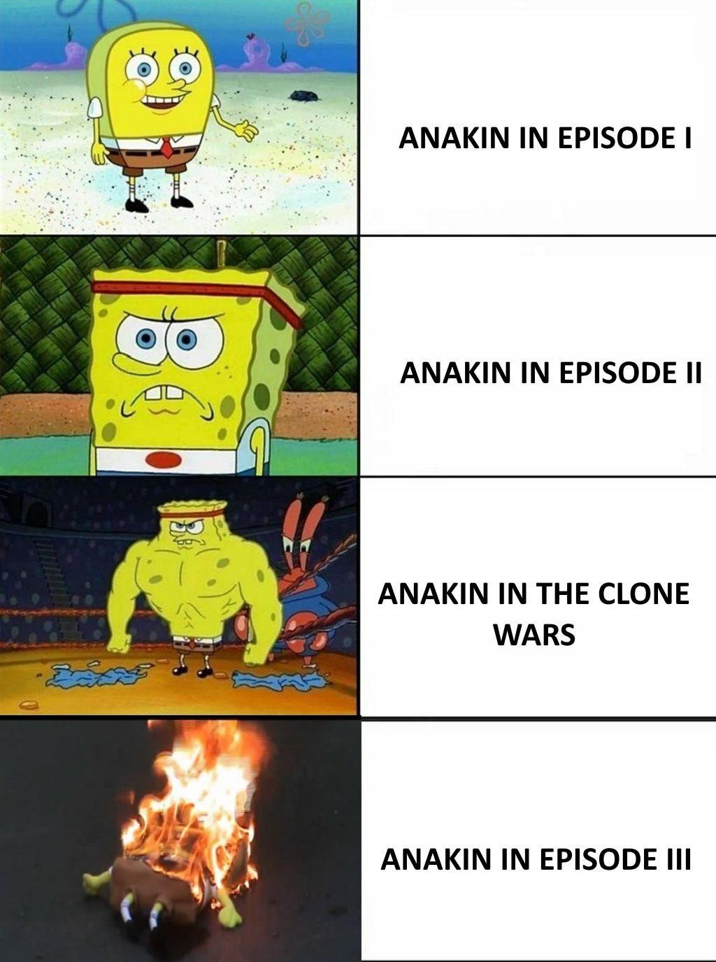 Don't try it PrequelMemes Spongebob memes, Funny