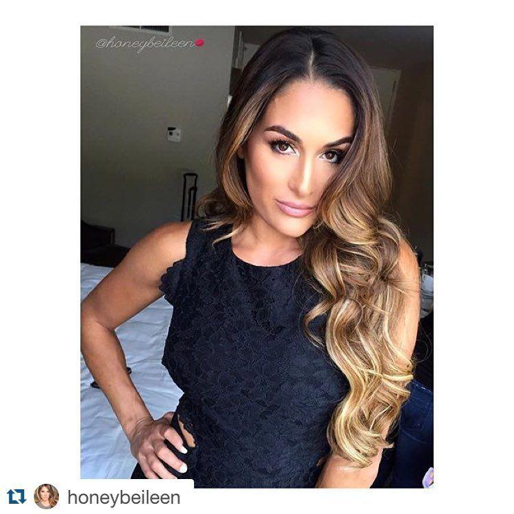 Nikki Bella Hair 2015