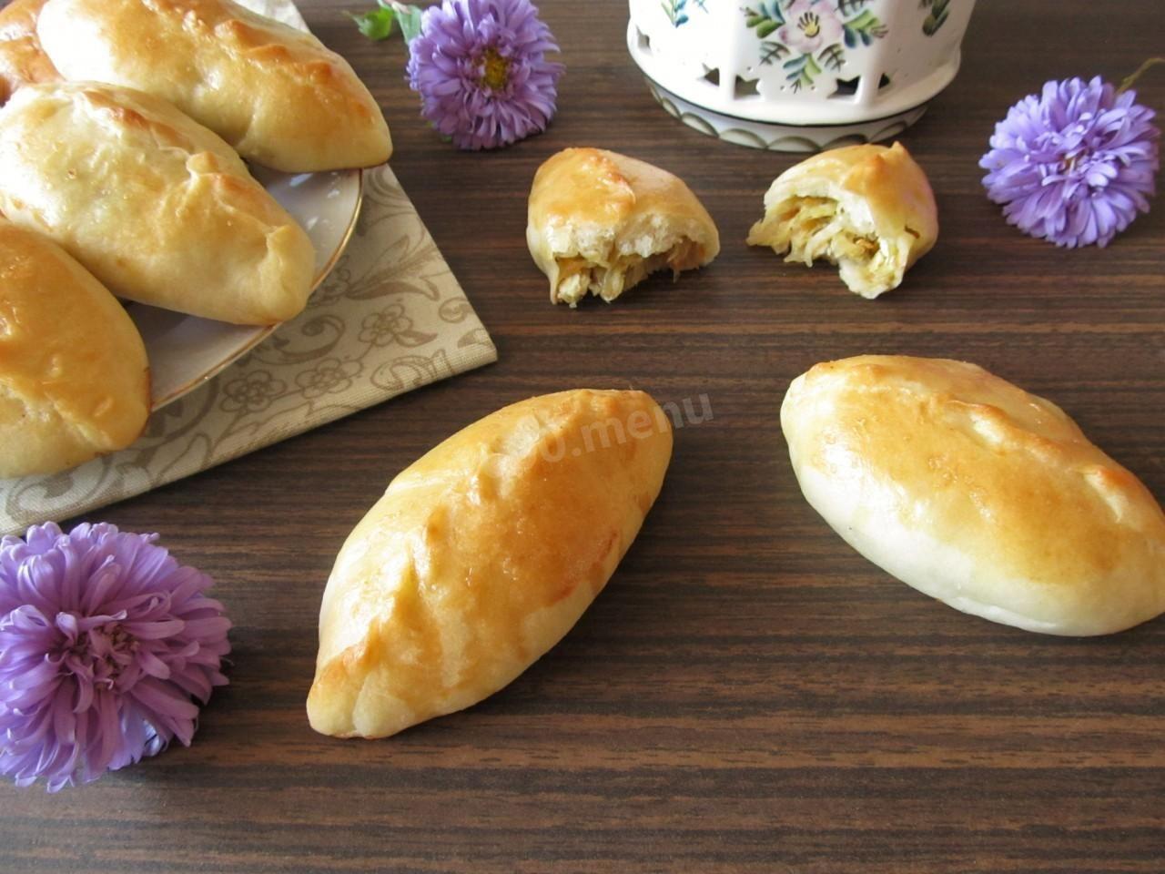 Pirozhki V Duhovke Kak Puh Na Moloke I Suhih Drozhzhah Recept S Foto Recept Idei Dlya Blyud Kulinariya Pirozhki
