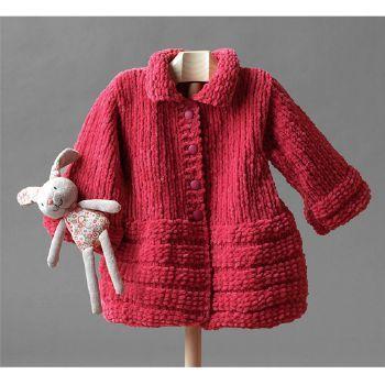 modele manteau tricot bebe gratuit