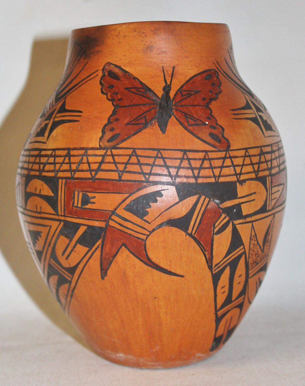 Hopi Pottery By Marlena Native American Vintage Hopi