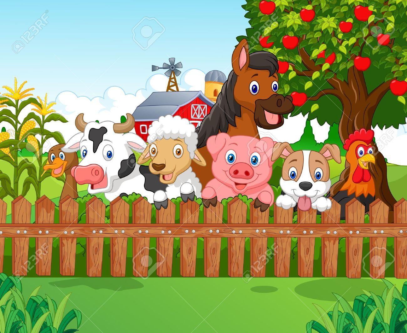 Animal Decor Farm Animal Paintings Kids Curtains