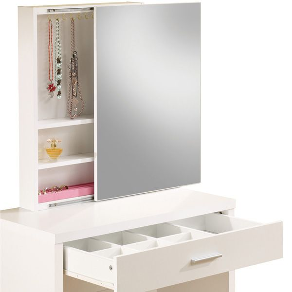 2 Piece Vanity Set   White | Meijer.com