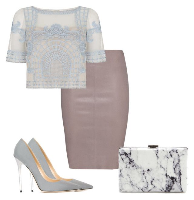"""""""Young Elegant"""" by laurastoves on Polyvore featuring Jitrois, Temperley London, Jimmy Choo, Balenciaga, women's clothing, women's fashion, women, female, woman and misses"""