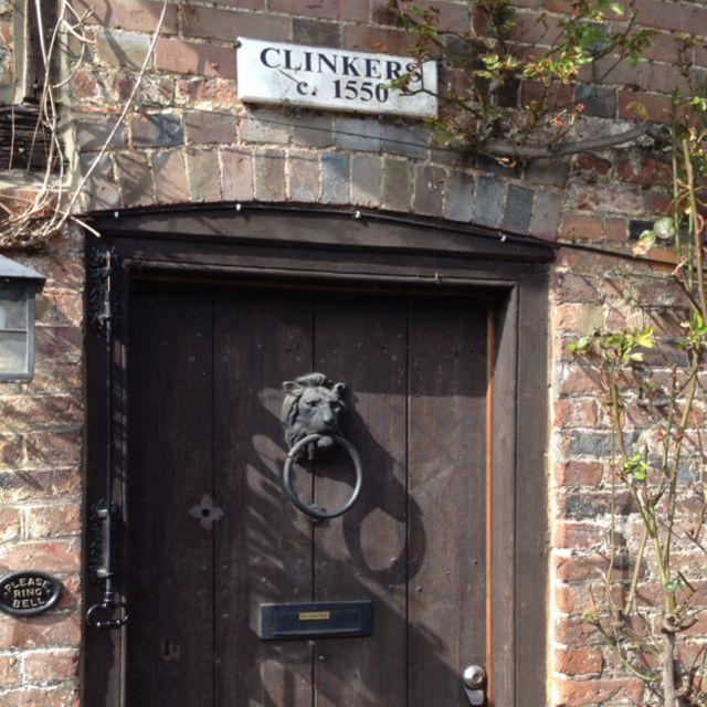 I love old English doors!