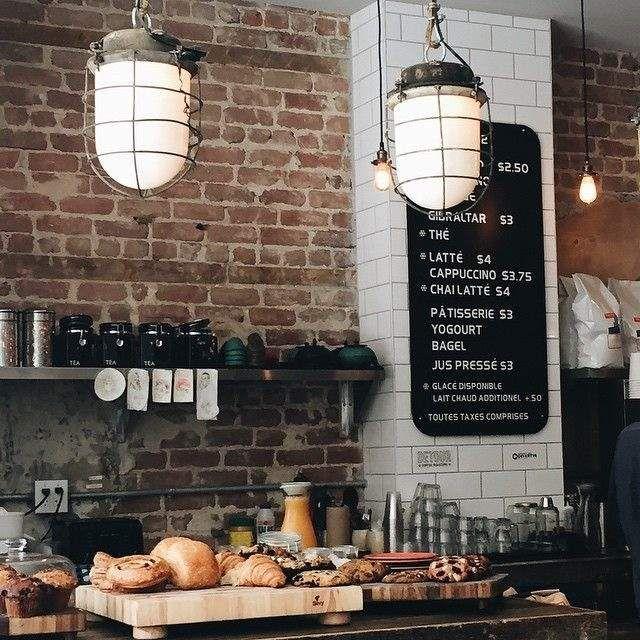 The Best Craft Coffee Shops In Montreal Podelki Iz Kofe Hudozhestvennoe Oformlenie Magazina Kofe Kofejnya