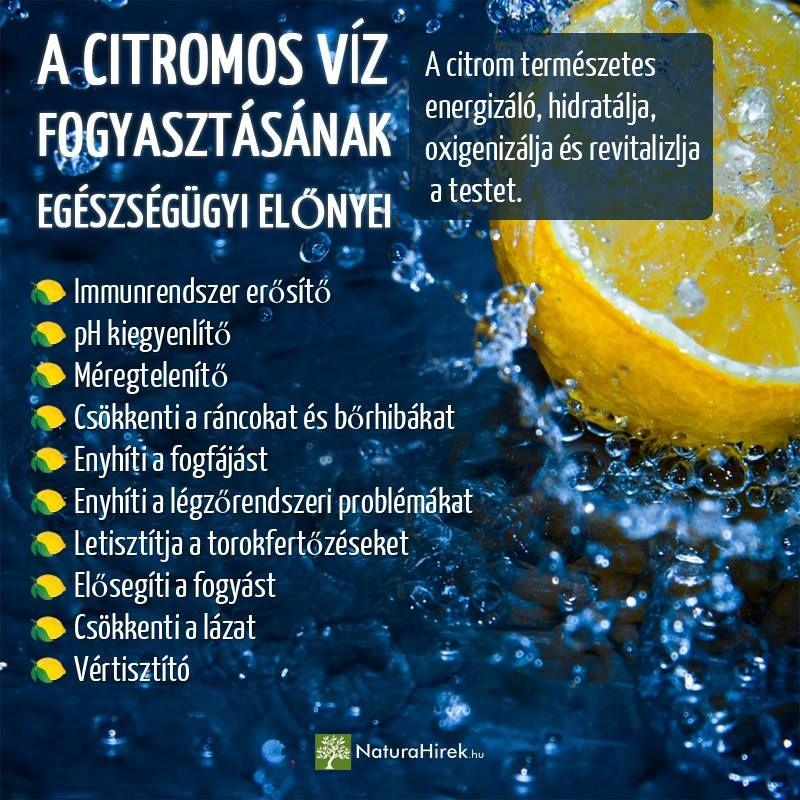 víz méregtelenítő citrommal papilloma vakcina gyermekeknél