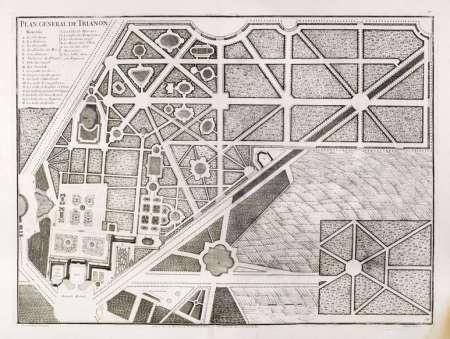 Ville Et Chateau De Versailles Versailles Grand Trianon Grundriss Versailles Grundriss Archiv