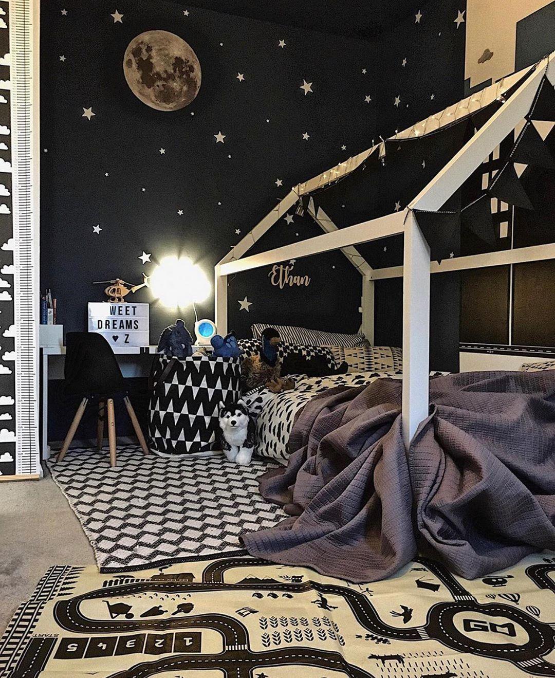 Fur Den Mond Schiessen Und Wenn Sie Vermissen Sie Immer Noch Zwischen Den Sternen Klasse B In 2020 Tumblr Zimmer Sterne Dekor