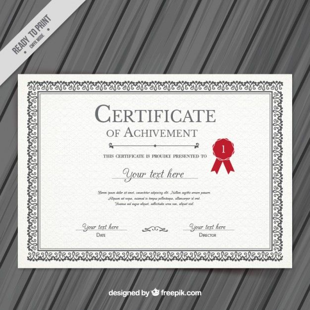 Free Certificate Templates For Word Pinmilana Bubalo On Graphic Design  Pinterest  Certificate And .