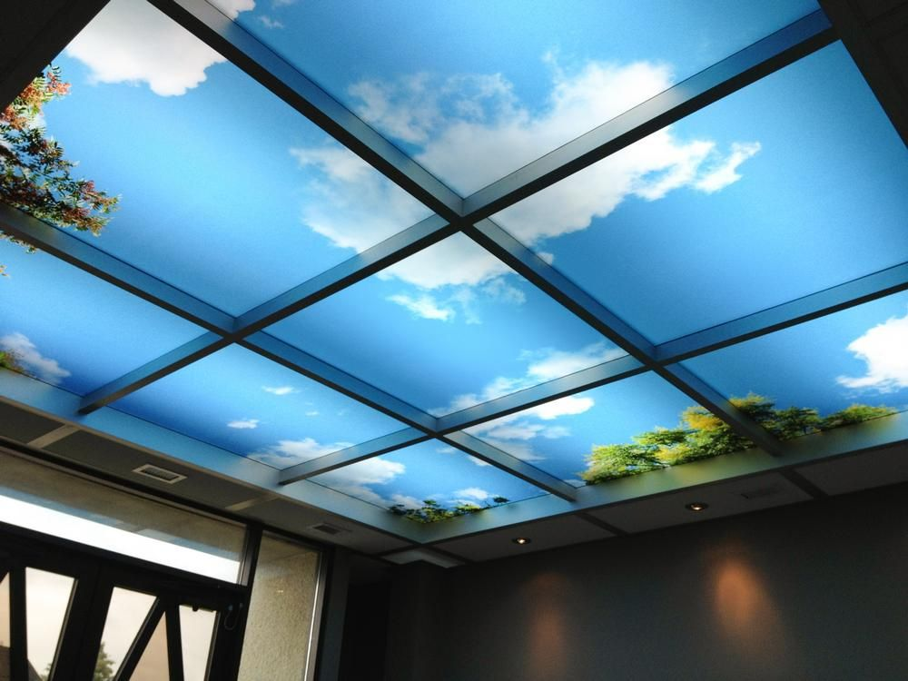 Skypanel Light Fixture Cover Diffusers A Well And Blue Skies