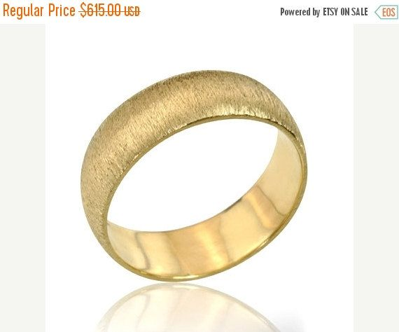 Black Friday SALE Men's Jewelry Retro 14K Yellow Gold by netawolpe