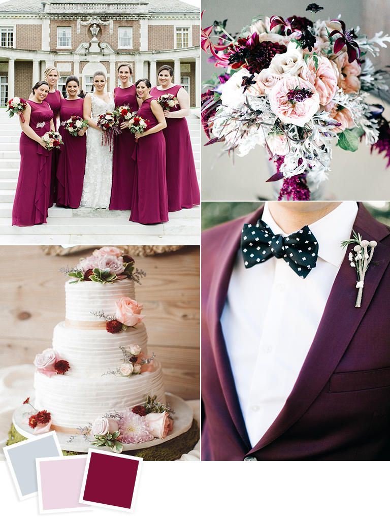 12 Fall Wedding Color Combos to Steal Fall wedding