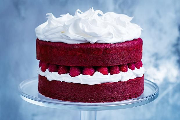 Cake Recipes Donna Hay: Red Velvet Cake With Marshmallow Icing