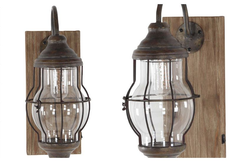 Wall Sconce Light Fixture Farmhouse And Barnyard Decor Rustic Industrial Metal Distressed Pl Farmhouse Wall Sconces Led Wall Sconce Wall Sconce Lighting