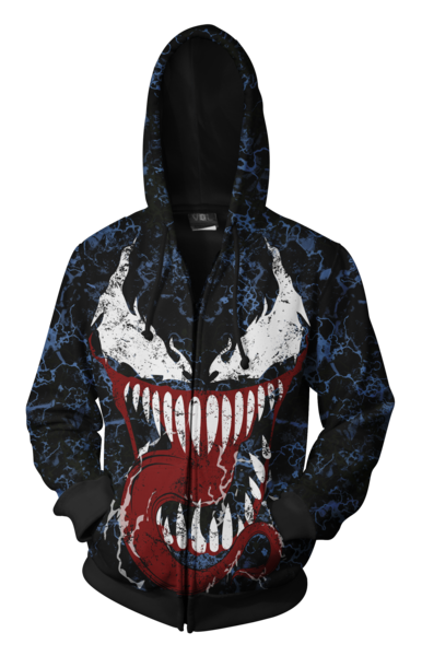 59865acf1 Spiderman Hoodies - Future Foundation Spider Man Zip Up Hoodie – KEVF