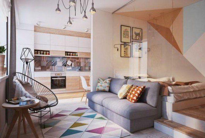 1001 + ideas de decoración salón pequeño en bonitas fotos ...