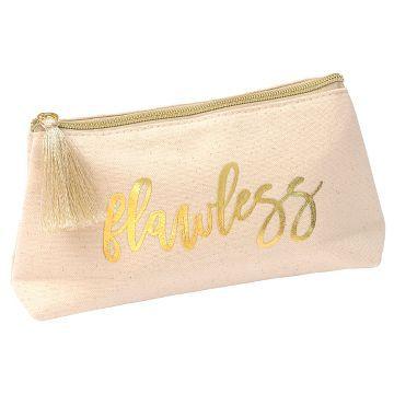 Mara Mi Gold Cosmetic Bag A C E S O R I