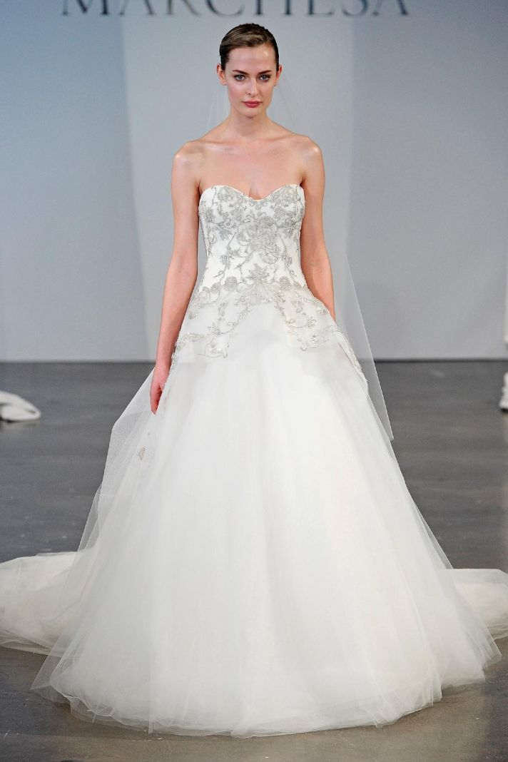 18 Exquisite Gowns from Marchesa Bridal Spring 2014 | Marchesa ...
