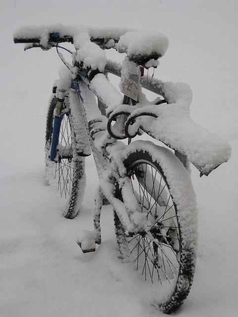 Vélo De Montagne, Vélo, La Neige - Image gratuite sur Pixabay