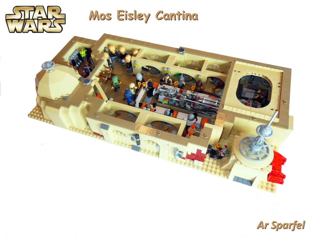 lego star wars mos eisley cantina instructions