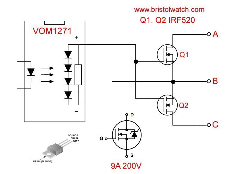 Build High Power MOSFET Bidirectional Switch Relay in 2020