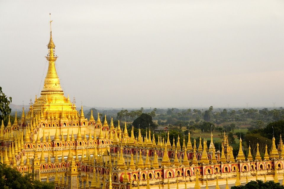 More Wow Golden Temple In Myanmar Been To Myanmar Rate And