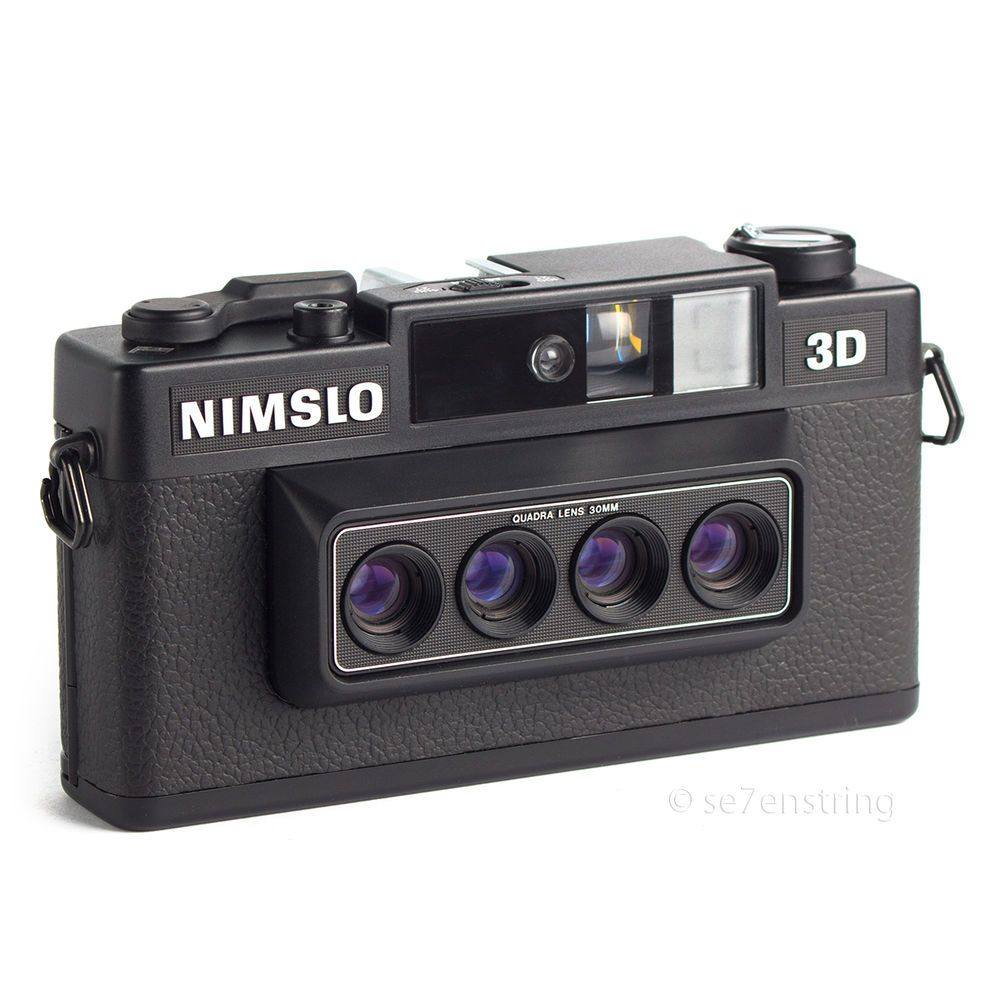 Nimslo 3D Quad Lens Stereo 35mm Film Camera | Filmmaking/Photography ...