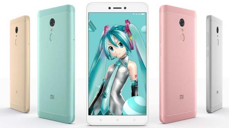 Xiaomi Redmi Note 4x With 4100mah Battery Announced Xiaomi Phone Smartphone
