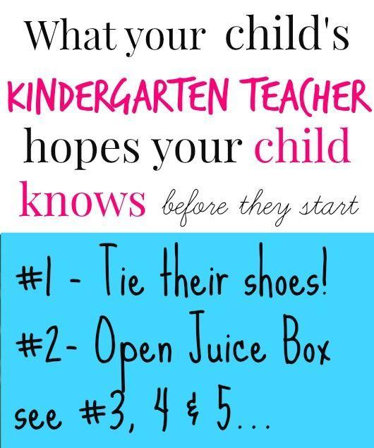 Photo of 5 Skills to teach before Kindergarten