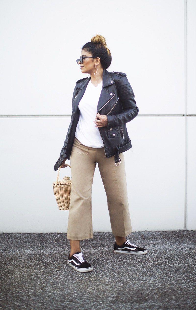 vans old skool outfit ideas Vans Old Skool Outfit, Weekender, Leather Jacket  Outfits,