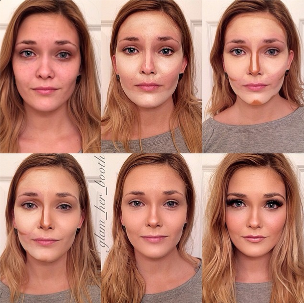 How to Use Contour for Setting and Defining | Make up | Pinterest ...