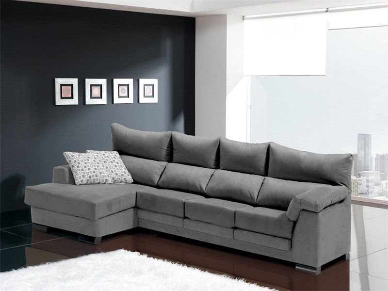 Sofa chaise longue 4 plazas inspiraci n de dise o de for Sofas 3 plazas mas cheslong