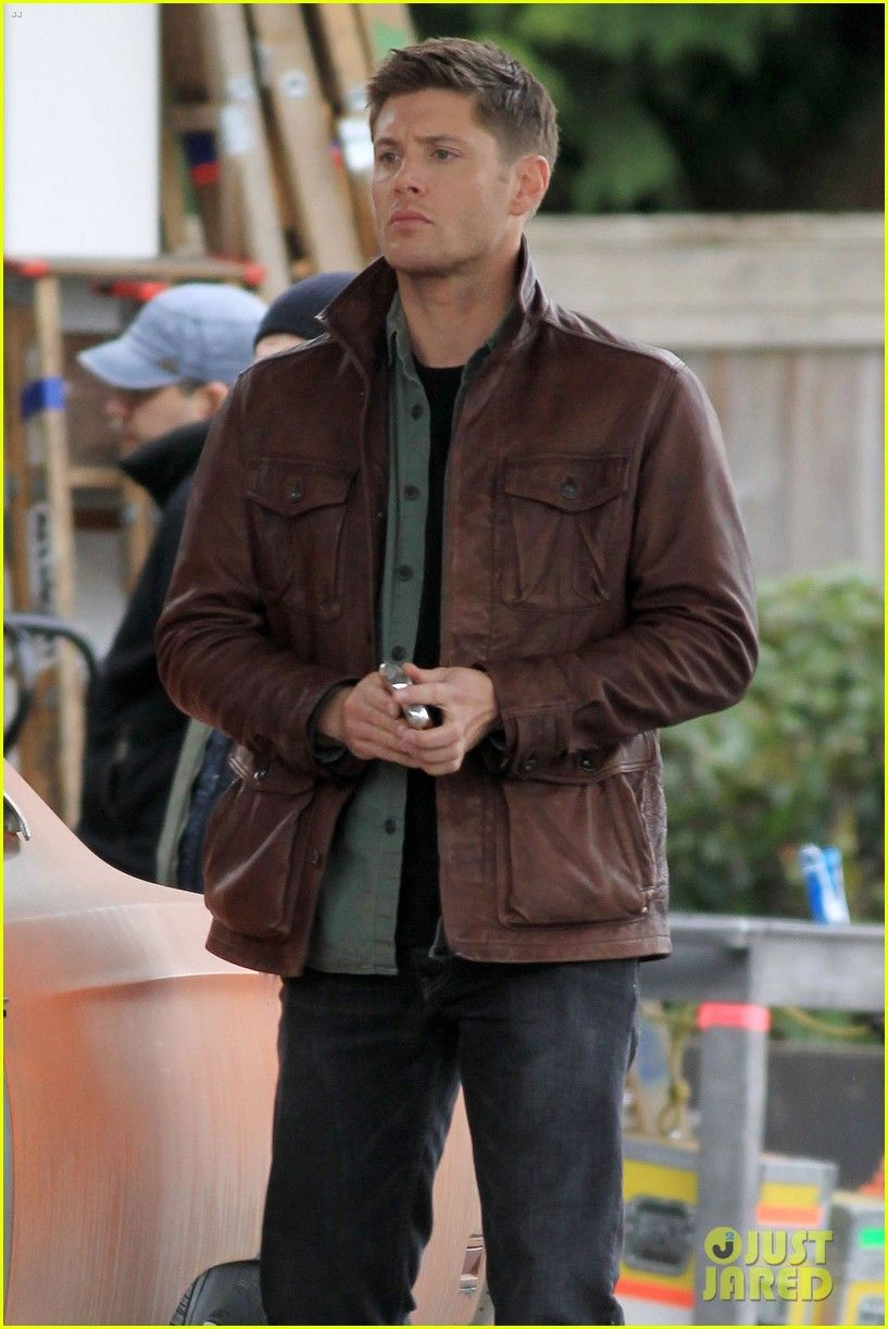 Supernatural Dean Winchester distressed leather jacket-BNWT-ALL Sizes Available