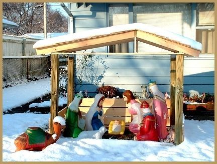 How To Build A Nativity Le