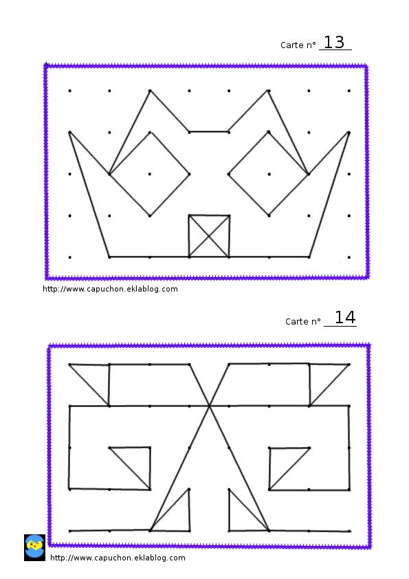 Reproduction De Figures Jeux Ecole Ulis College Geometrie