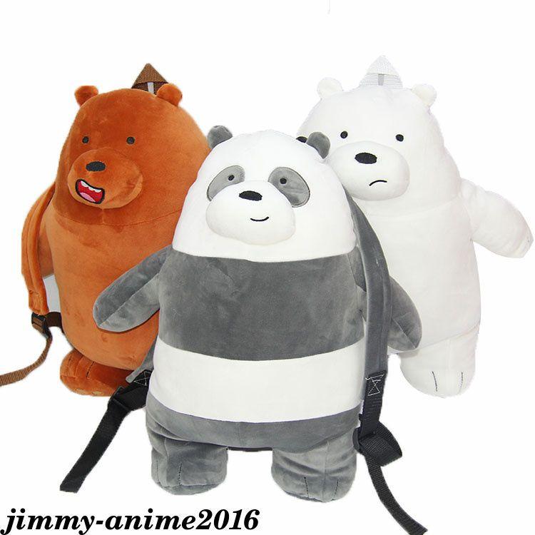 Minions bob with bear plush school nursery back pack rucksack travel Bag film
