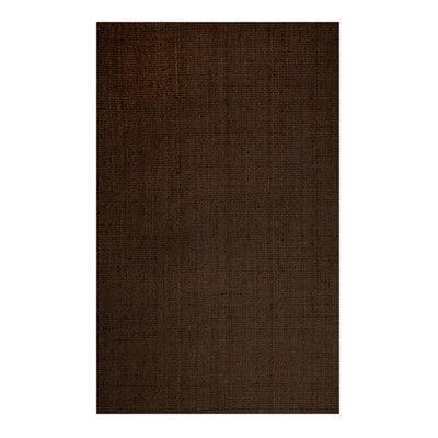 Rug Studio Natural Chic Hand-Woven Espresso Area Rug Rug Size: 5' x 7'6""