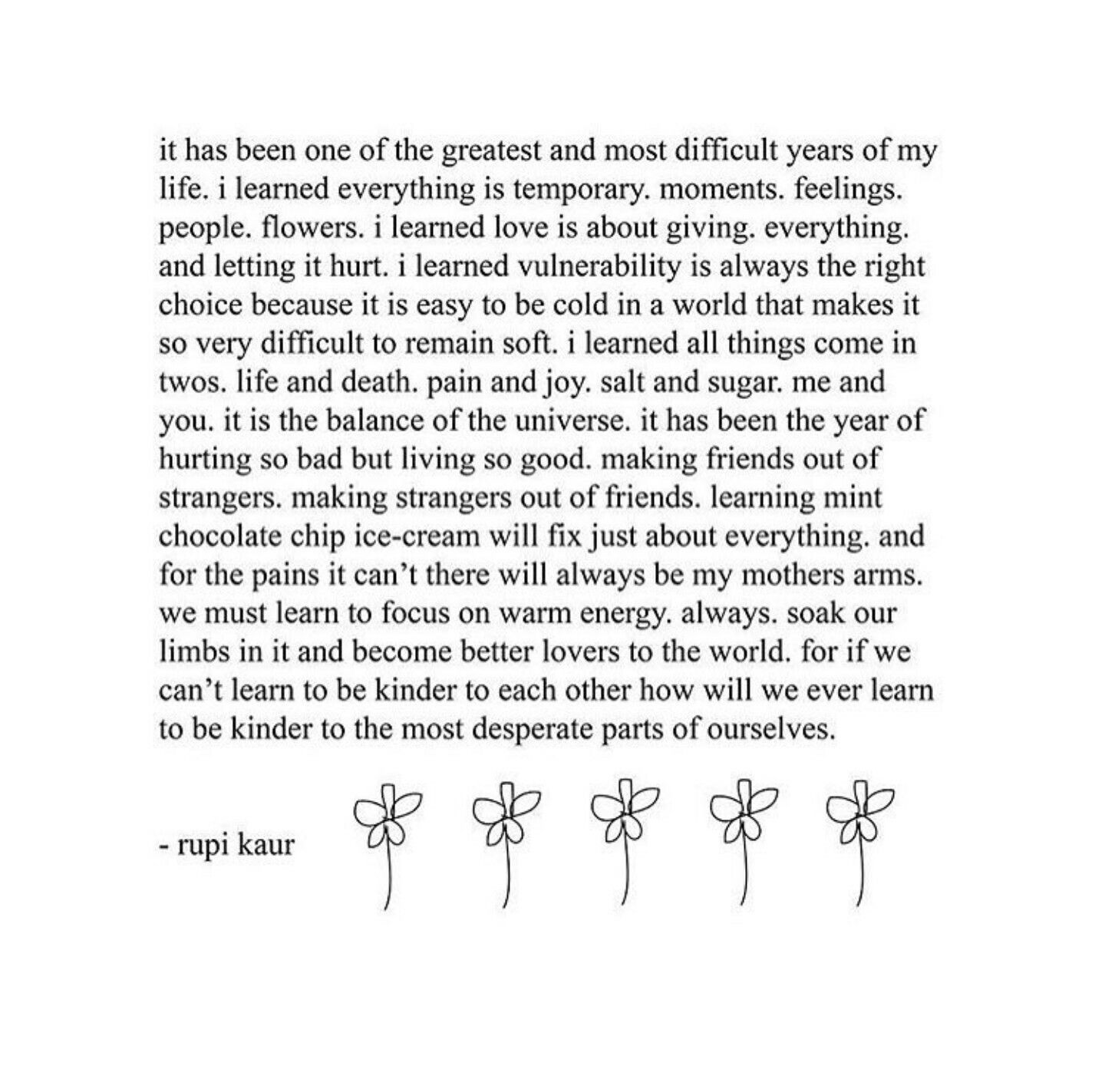 I Love This Words Quotes Rupi Kaur Life Quotes