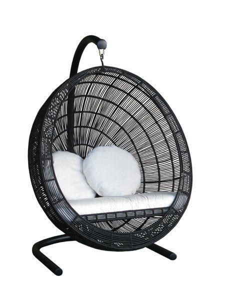 Bell Swing Chair Schommel Stoel Ei Vorm Tuin Terras