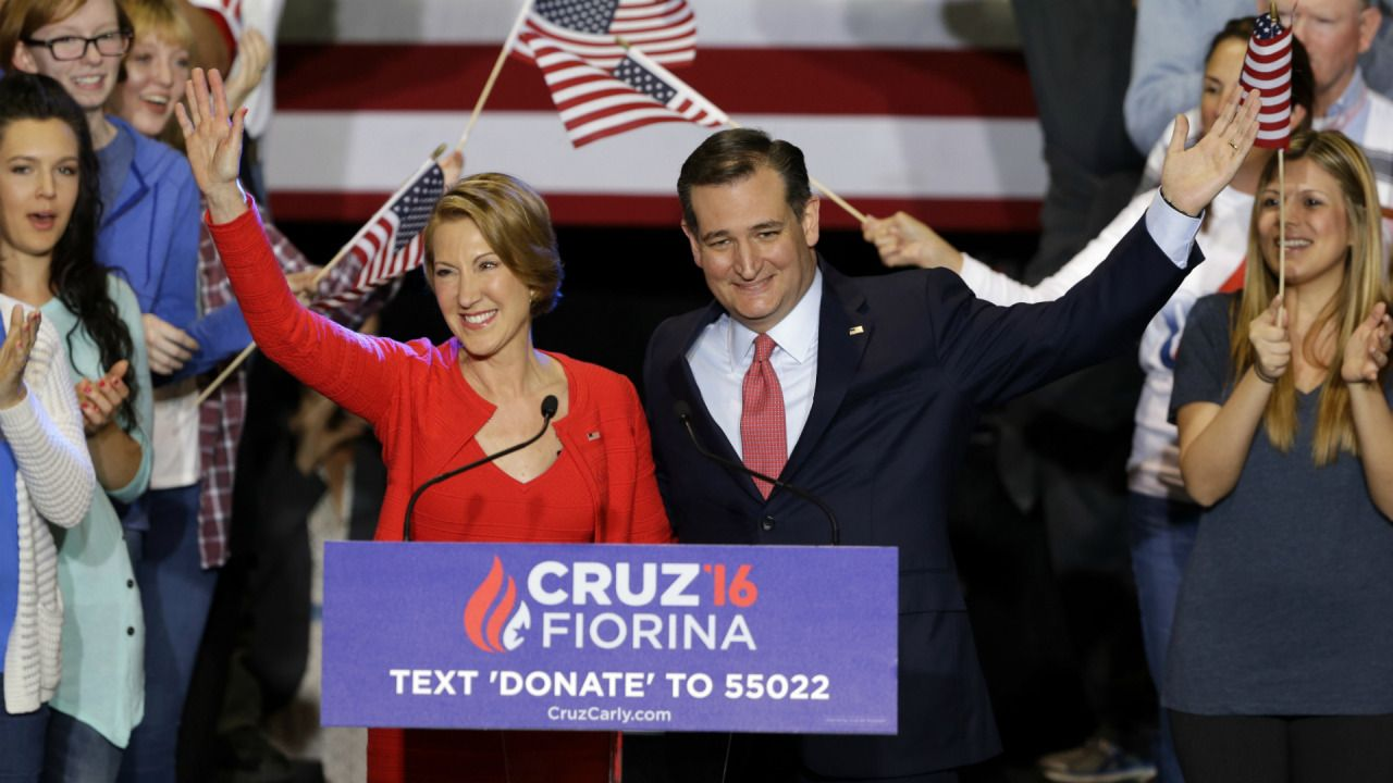 Ted Cruz's endless introduction of Carly Fiorina had...: Ted Cruz's endless introduction of Carly Fiorina had people asking,… #CarlyFiorina