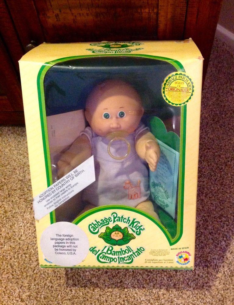 Cabbage Patch Kids Jesmar Doll Italian I Bamboli Del Campo Incantato Cabbage Patch Kids Cabbage Patch Dolls