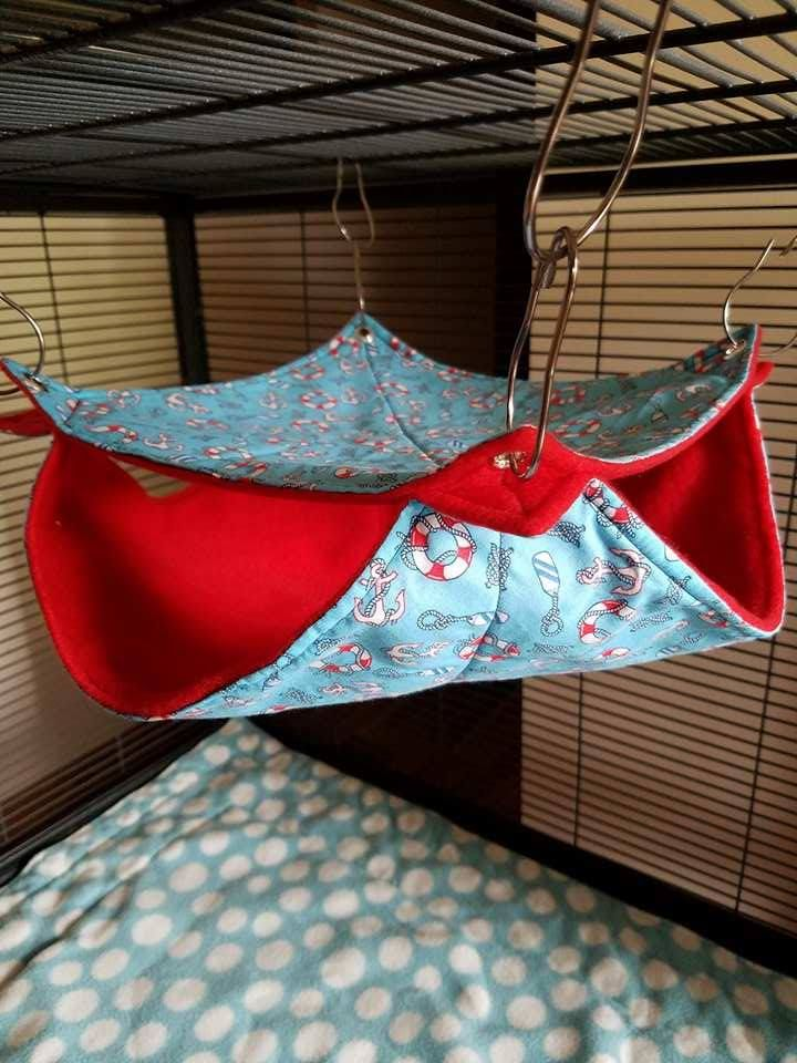 e sail away with me on this bunk bed hammock for rats ahoy mattie    e sail away with me on this bunk bed hammock for      rh   pinterest