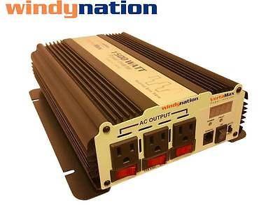 Complete Kit 100 W Watt 100w Solar Panel 1500w Inverter 12v Rv Boat Off Grid Ebay Solar Panel Kits Solar Panels Solar Energy Panels