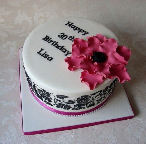 18 Birthday Cake Designs Birthday Cakes Women On Elegant