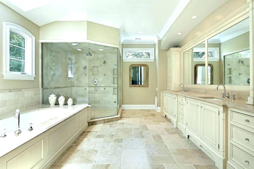 Tub Frame And Bathroom Colors In 2020 White Master Bathroom Master Bathroom Design White Bathroom Designs