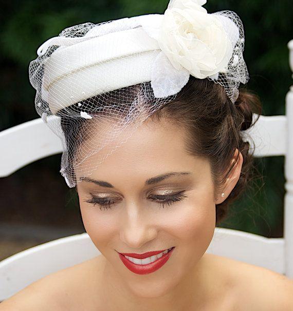 Hats For Short Hair, Pretty Hats, Wedding