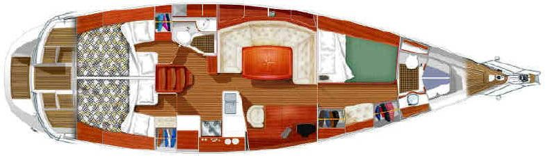 Small Sailboat Interiors | cruising costs, maintenance and price ...