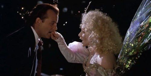 The Ghost of Christmas Present, Scrooged, 1988 | Fairies in Film ...